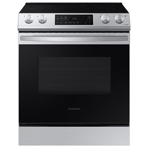 Samsung 6.3 cu. ft. Front Control Slide-in Electric Range with Air Fry & Wi-Fi